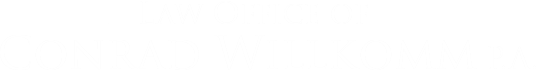 The Law Office of Conrad Willkomm, P.A.